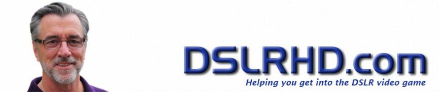 DSLRHD.com header image